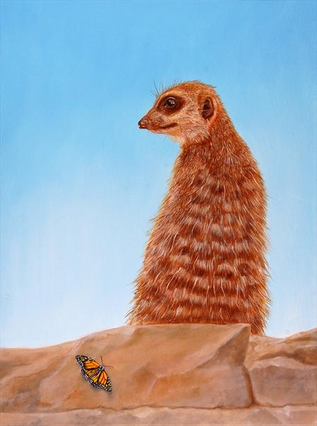 Meercat by David Fright