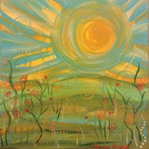 Spring Morning by Leanne Hughes