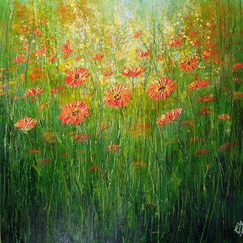 Marigold Meadow by Colette Baumback