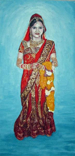 varsha in hindu wedding costume by colin ross jack