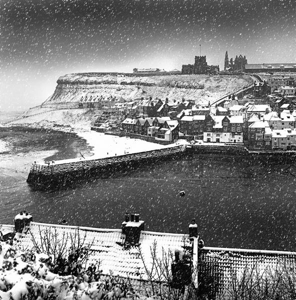 Whitby Snowstorm by Paul Berriff