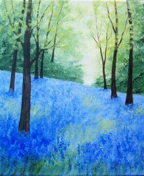 Bluebell Woodland 3# by Patricia Richards
