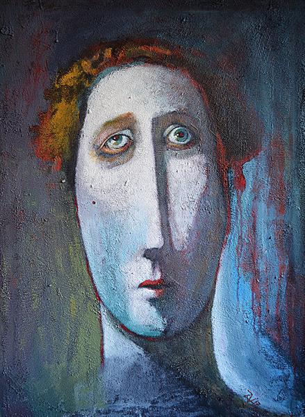 Portrait of a Young Man  by Zhana Viel