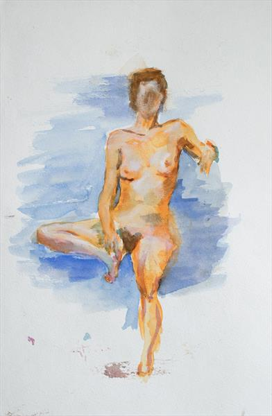 Nude by SB  Boursot