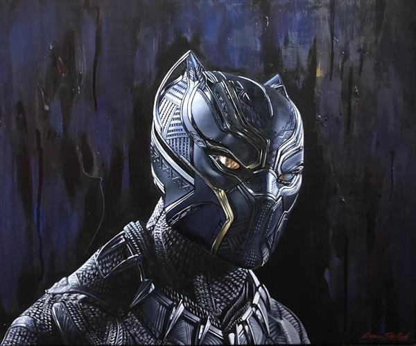 Black Panther by Omar Shelleh