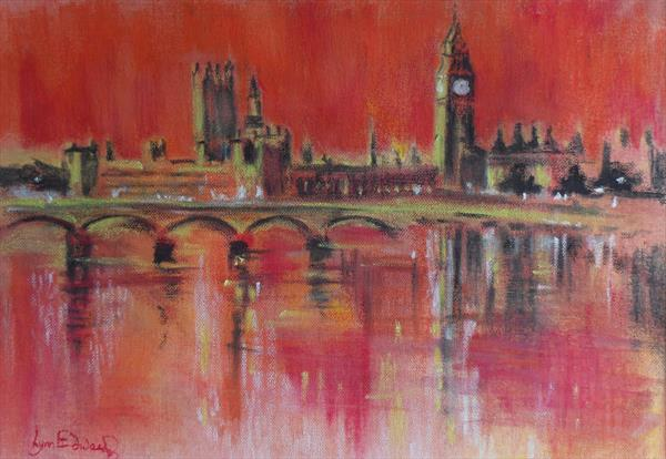 London in the Red by Lynn Edwards