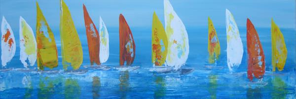Sailing By by Elaine Allender