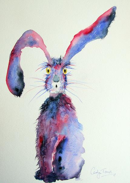 Scruffy Hare  by Carolyn Towers