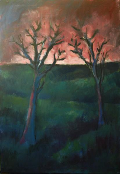 Two Trees by Andre Pallat