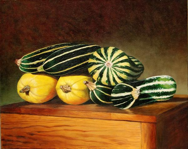 Three Types of Marrow by Andrew Mcneile Jones