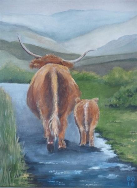 [Sold] Highland Coo