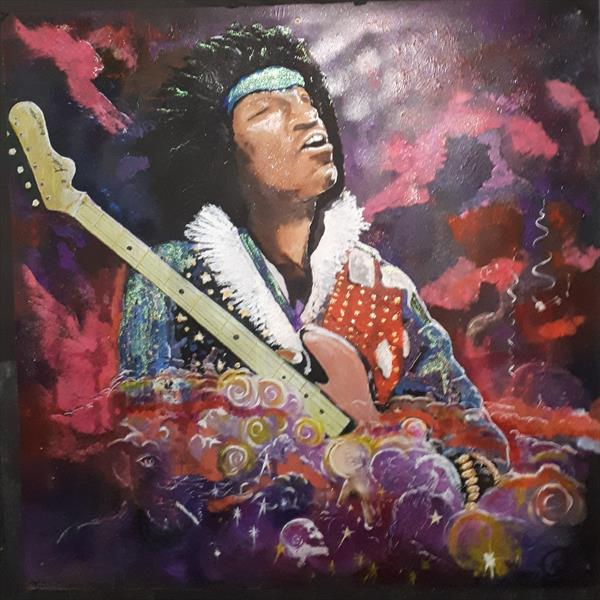 JIMMY PURPLE HAZE by Shane Powell
