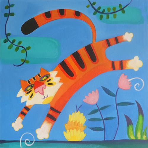 Jungle Tiger by Emily Skinner