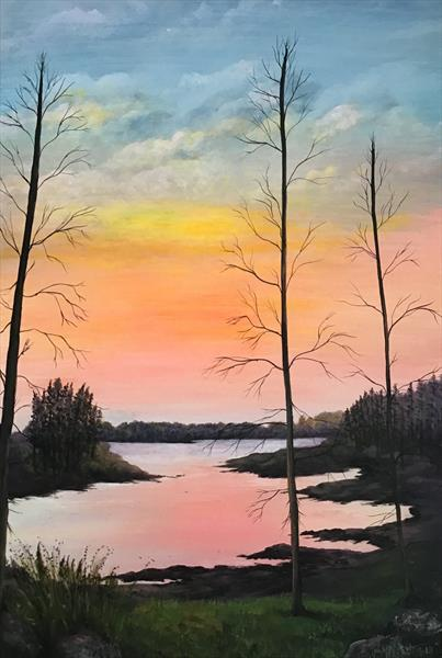 Tranquil Sunset by Brenda Newton