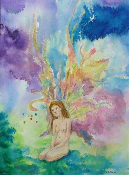 Fairy fascination by Jackie Adshead