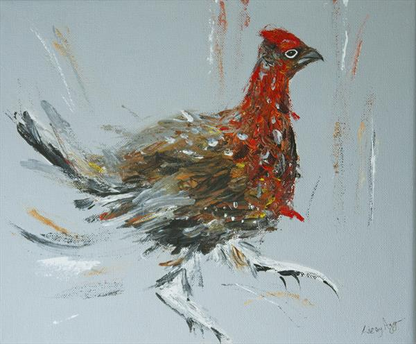 The Red Grouse by Lizzy Agger