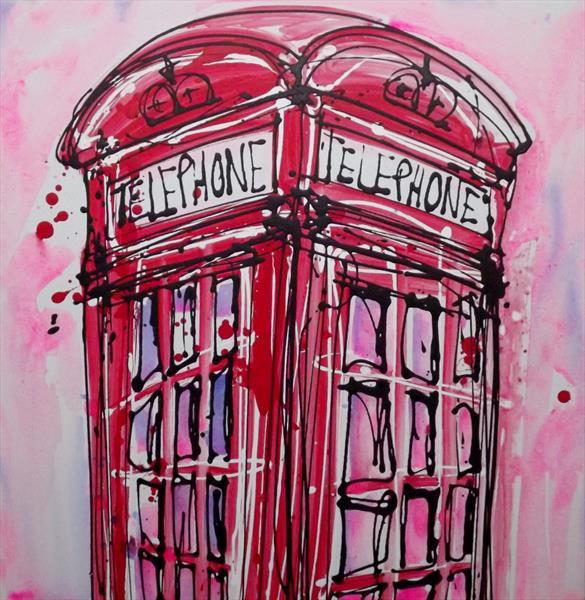 London phonebox by Keith Mcbride