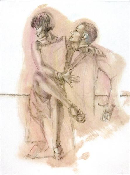 Midnight Tango (Study 12) by Charles Willmott