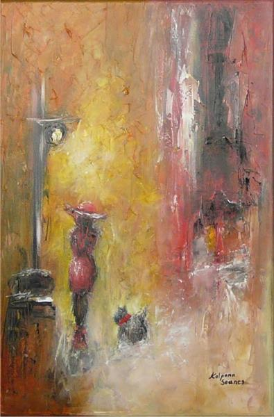 Same Old Street On A Brand New Day II by Kalpana Soanes