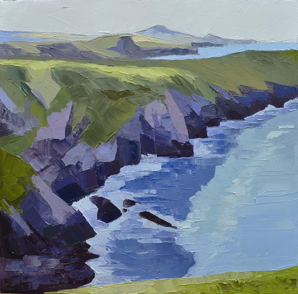 Porthgain to Abereiddy by Dawn Harries