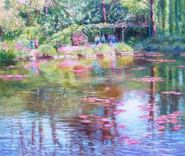 Reflections, Giverny by Joy Regan