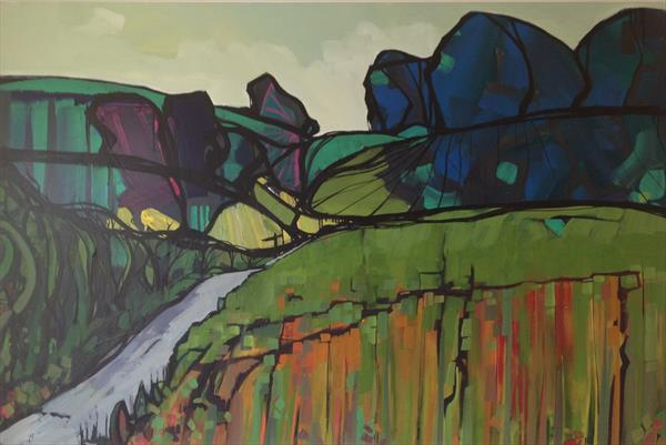Abstract Dorset Fields A5000 by Mark Harris