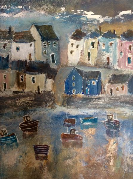 MEMORIES TENBY HARBOUR  by Roma Mountjoy