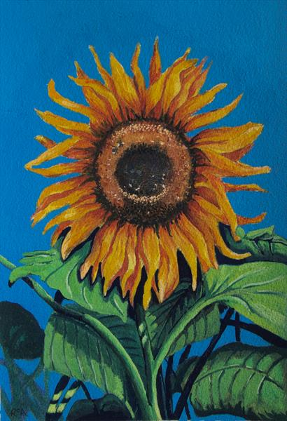 Sun Worshipper by Ruth Archer