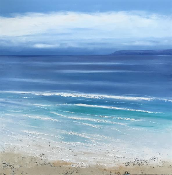 Ocean Blue by Laure Bury