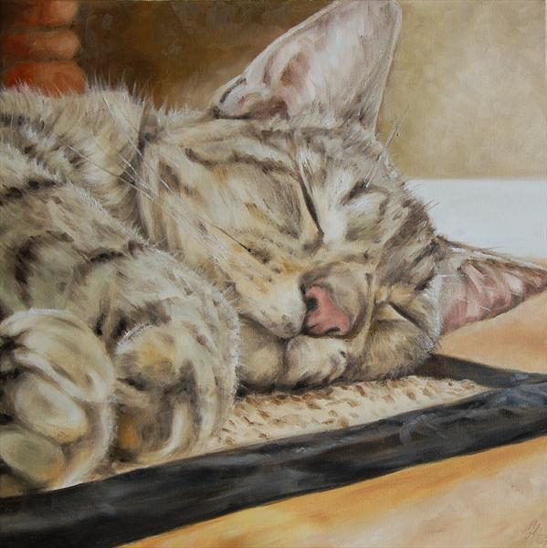It's a Cat's Life (Giclee Print) by Wendy Atton