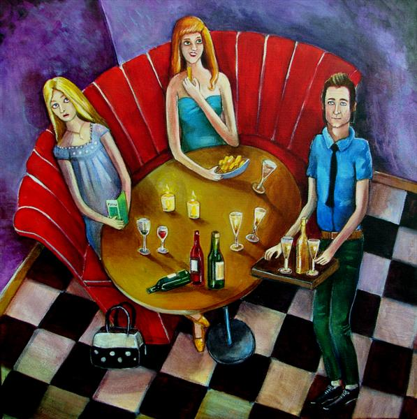 Three's a Crowd by Victoria Stanway