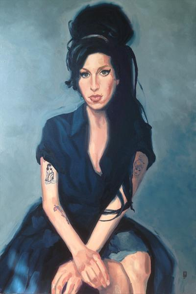 Amy Winehouse by Brad Dillon