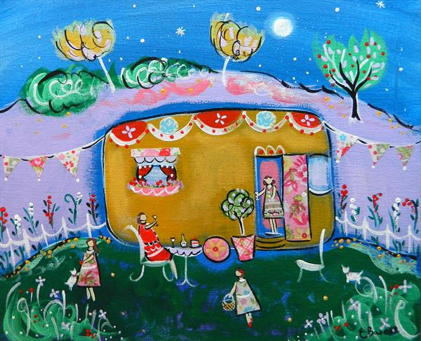 Glamping  by Claire Barone