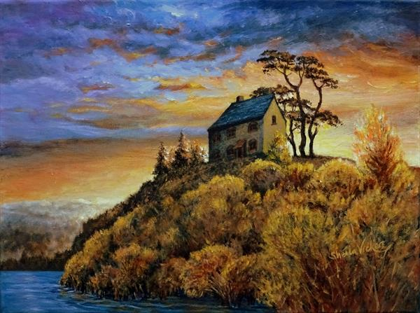 The Old House On The Hill by Sheila Vickers