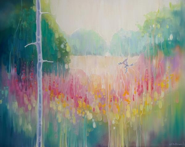 Summer Meadow by Gill Bustamante