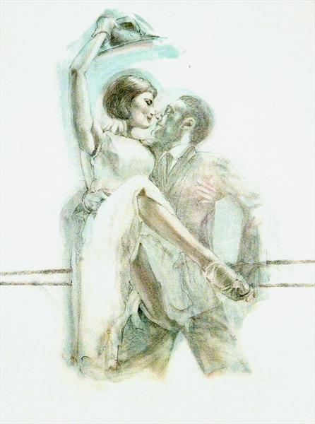 Midnight Tango (Study 7) by Charles Willmott