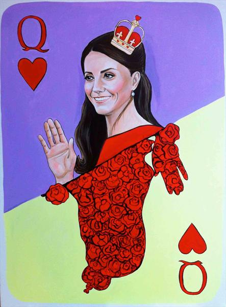 Queen Kate of Hearts by Marietta Osyan