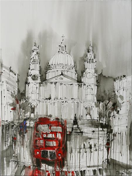 St Paul's Cathedral by Irina Rumyantseva