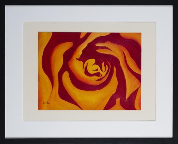 Rose Whirl 2 by Lana Enderle