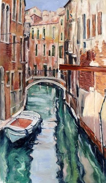 Back Water of Venice by Peter King