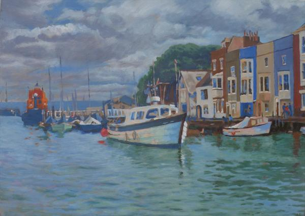 Weymouth Harbour by Louise Gillard