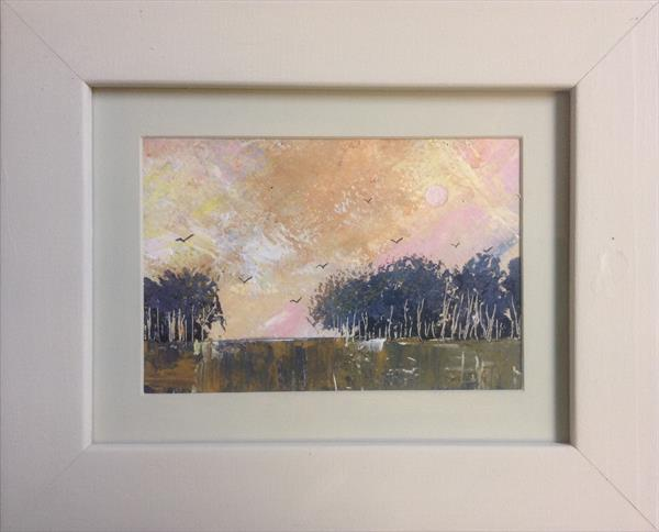 As young as the morning  ( framed original) by Sarah Gill