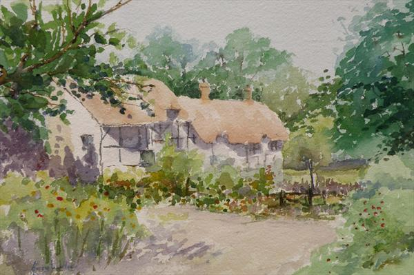 Anne Hathaway's Cottage by Gerry Ludlow