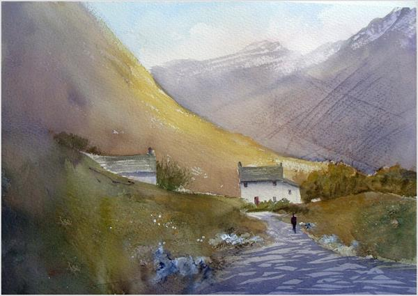Hill Farm Cottages by Greg Howard