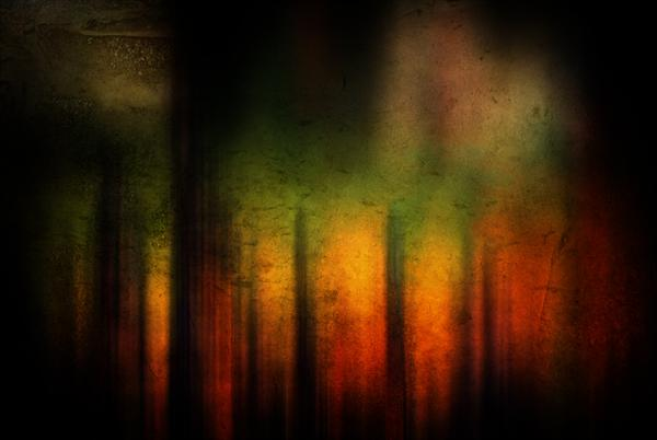 Colour Abstract by Linda Hoey