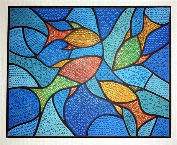 THE FOUR FISHES OF SERENDIPITY by Sam Westwood