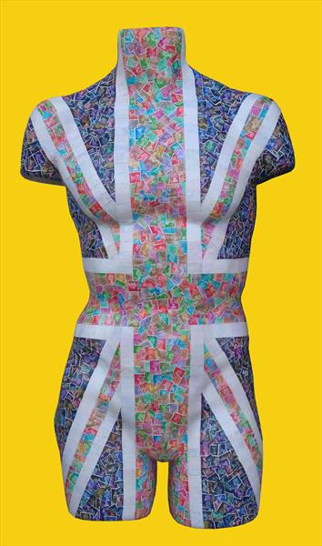 Union Jack Torso by Gary Hogben