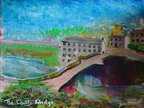 THE COUNTY BRIDGE. by Baz Farnell