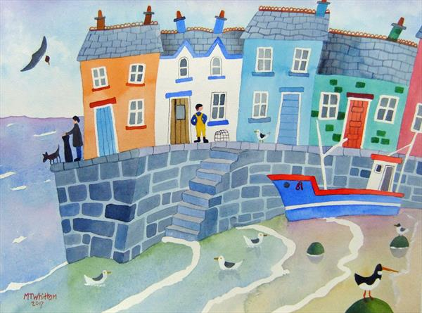 The Harbour Steps by Martin Whittam