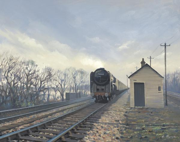 Britannia Class Approaching Cholsey by Richard Picton